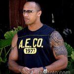 фото тату дуэйна джонсона (tattoo) (значение) - пример рисунка - 012 tatufoto.com