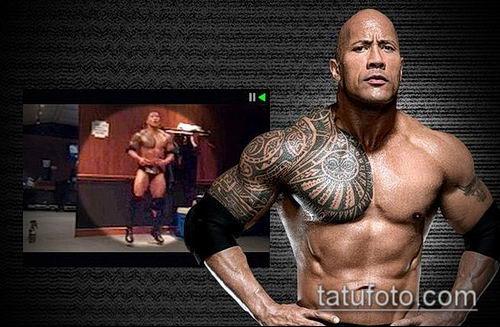 фото тату дуэйна джонсона (tattoo) (значение) - пример рисунка - 019 tatufoto.com