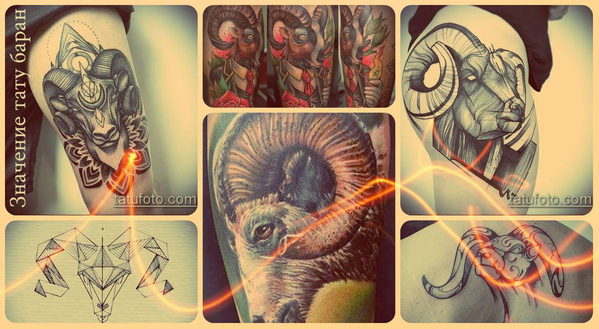 Значение тату баран - фото примеры интересных рисунков татуировки
