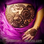 Фото Мехенди (рисунки хной) беременным - 22052017 - пример - 032 Mehendi to pregnant