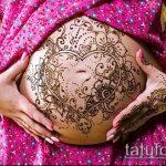 Фото Мехенди (рисунки хной) беременным - 22052017 - пример - 073 Mehendi to pregnant