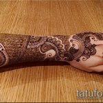 Фото Свадебное мехенди (рисунки хной) - 22052017 - пример - 024 Wedding mehendi