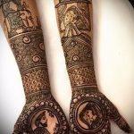 Фото Свадебное мехенди (рисунки хной) - 22052017 - пример - 030 Wedding mehendi
