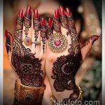 Фото Свадебное мехенди (рисунки хной) - 22052017 - пример - 057 Wedding mehendi
