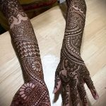 Фото Свадебное мехенди (рисунки хной) - 22052017 - пример - 058 Wedding mehendi