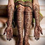 Фото Свадебное мехенди (рисунки хной) - 22052017 - пример - 063 Wedding mehendi