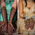 Фото Свадебное мехенди (рисунки хной) - 22052017 - пример - 077 Wedding mehendi