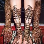 Фото Свадебное мехенди (рисунки хной) - 22052017 - пример - 083 Wedding mehendi