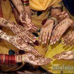 Фото Свадебное мехенди (рисунки хной) - 22052017 - пример - 117 Wedding mehendi