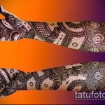 Фото Свадебное мехенди (рисунки хной) - 22052017 - пример - 118 Wedding mehendi