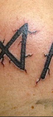 Фото Тату талисман – пример – 29052017 – пример – 006 Tattoo Talismans