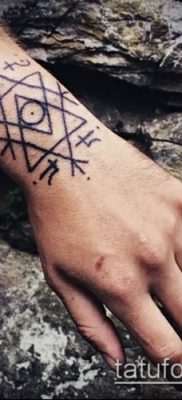 Фото Тату талисман – пример – 29052017 – пример – 076 Tattoo Talismans