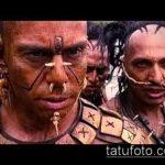 Фото история пирсига (tattoo) (значение) - пример рисунка - 012 tatufoto.com