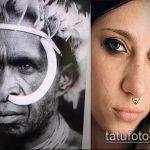 Фото история пирсига (tattoo) (значение) - пример рисунка - 026 tatufoto.com