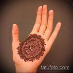 Фото мандала хной - 20052017 - пример - 009 Mandala henna