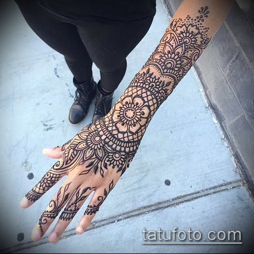 Фото мандала хной - 20052017 - пример - 014 Mandala henna
