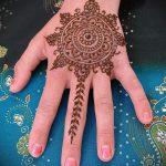 Фото мандала хной - 20052017 - пример - 015 Mandala henna