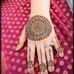 Фото мандала хной - 20052017 - пример - 017 Mandala henna