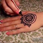 Фото мандала хной - 20052017 - пример - 042 Mandala henna