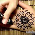 Фото мандала хной - 20052017 - пример - 045 Mandala henna