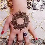 Фото мандала хной - 20052017 - пример - 049 Mandala henna