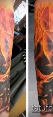 Фото татуировки пламя – пример рисунка – 27052017 – пример – 003 Flame tattoos