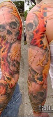 Фото татуировки пламя – пример рисунка – 27052017 – пример – 011 Flame tattoos