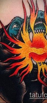 Фото татуировки пламя – пример рисунка – 27052017 – пример – 022 Flame tattoos
