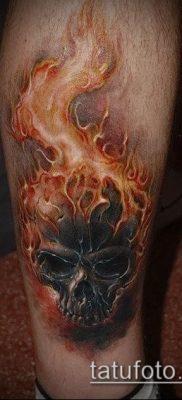 Фото татуировки пламя – пример рисунка – 27052017 – пример – 030 Flame tattoos