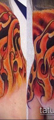 Фото татуировки пламя – пример рисунка – 27052017 – пример – 034 Flame tattoos
