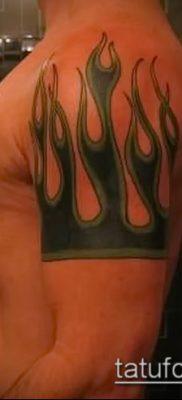 Фото татуировки пламя – пример рисунка – 27052017 – пример – 040 Flame tattoos