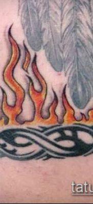 Фото татуировки пламя – пример рисунка – 27052017 – пример – 058 Flame tattoos