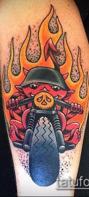 Фото татуировки пламя – пример рисунка – 27052017 – пример – 068 Flame tattoos