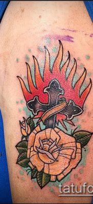 Фото татуировки пламя – пример рисунка – 27052017 – пример – 073 Flame tattoos