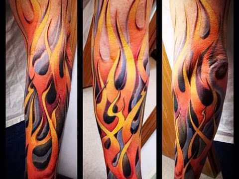 Фото татуировки пламя - пример рисунка - 27052017 - пример - 093 Flame tattoos