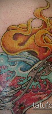 Фото татуировки пламя – пример рисунка – 27052017 – пример – 117 Flame tattoos