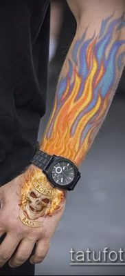 Фото татуировки пламя – пример рисунка – 27052017 – пример – 133 Flame tattoos
