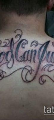 Фото тату Бог мне судья – 25052017 – пример – 012 Tattoo God is my judge