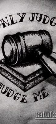Фото тату Бог мне судья – 25052017 – пример – 018 Tattoo God is my judge