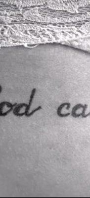 Фото тату Бог мне судья – 25052017 – пример – 030 Tattoo God is my judge