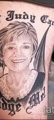 Фото тату Бог мне судья – 25052017 – пример – 049 Tattoo God is my judge