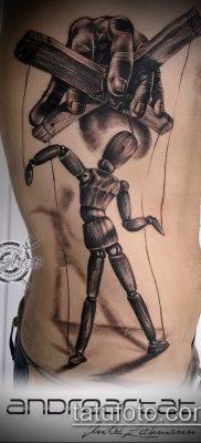 Фото тату Кукловод – пример рисунка – 30052017 – пример – 012 Tattoo Puppeteer