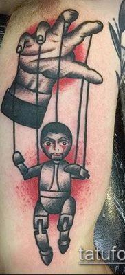 Фото тату Кукловод – пример рисунка – 30052017 – пример – 014 Tattoo Puppeteer