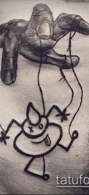 Фото тату Кукловод – пример рисунка – 30052017 – пример – 018 Tattoo Puppeteer