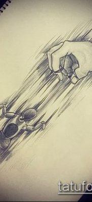 Фото тату Кукловод – пример рисунка – 30052017 – пример – 019 Tattoo Puppeteer