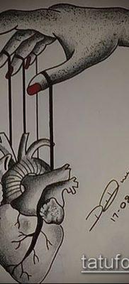 Фото тату Кукловод – пример рисунка – 30052017 – пример – 022 Tattoo Puppeteer