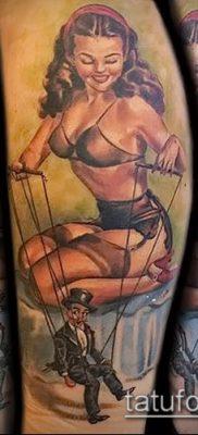 Фото тату Кукловод – пример рисунка – 30052017 – пример – 023 Tattoo Puppeteer