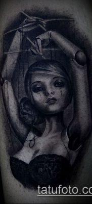 Фото тату Кукловод – пример рисунка – 30052017 – пример – 029 Tattoo Puppeteer
