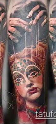 Фото тату Кукловод – пример рисунка – 30052017 – пример – 032 Tattoo Puppeteer