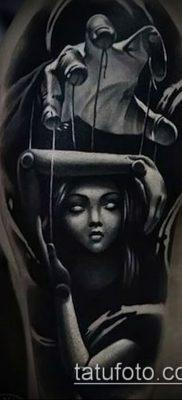 Фото тату Кукловод – пример рисунка – 30052017 – пример – 038 Tattoo Puppeteer